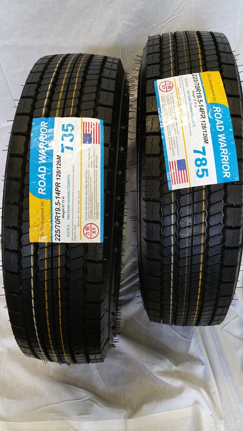 Truck Tires for Sale at Wholesale Prices 225/70R19.5-3
